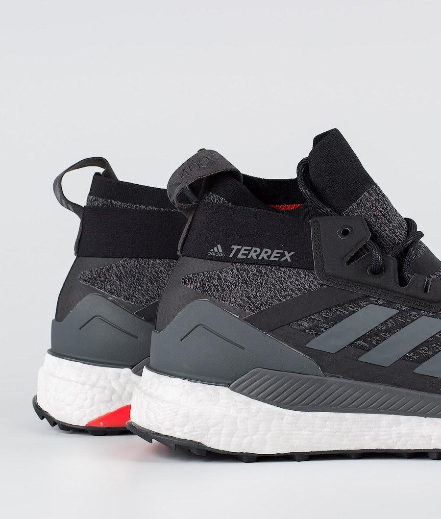 Adidas Terrex Free Hiker Shoes Core Black/Grey Six/Active Orange