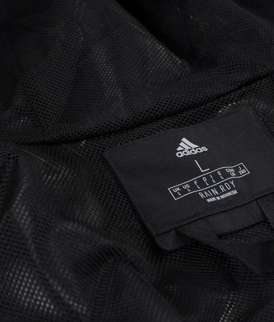 Adidas Terrex BSC 3 Stripes Rain Ready Jacket Black