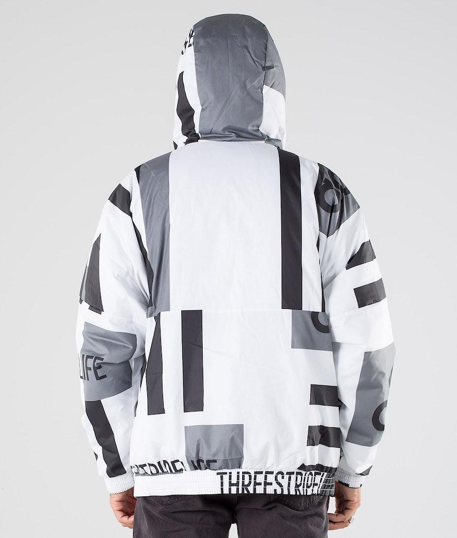 Adidas Terrex BTS Reversible AOP Jacket Black/White