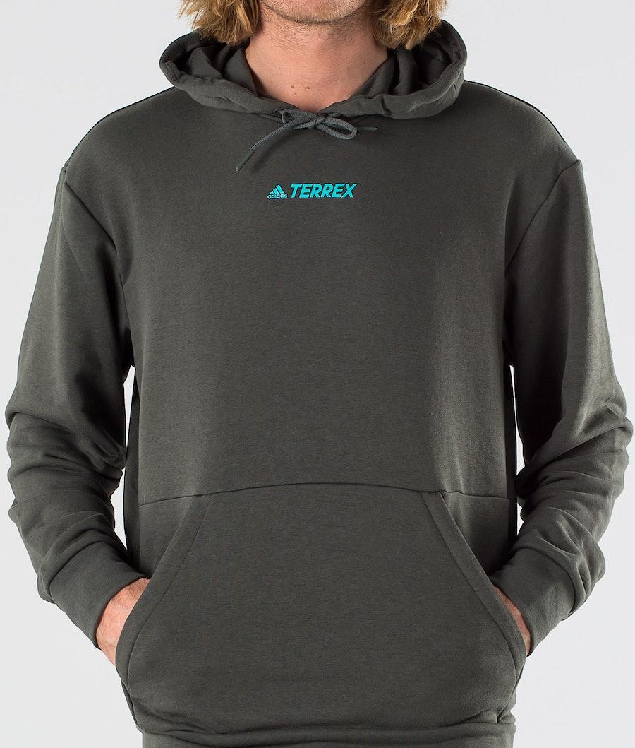 Adidas Terrex Terrex Logo Hood Legend Earth