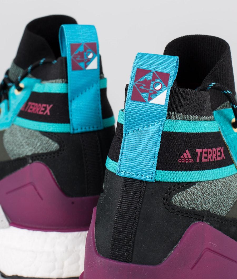 Adidas Terrex Terrex Free Hiker Blue Shoes Legend Earth/Grey Two/Sigcya