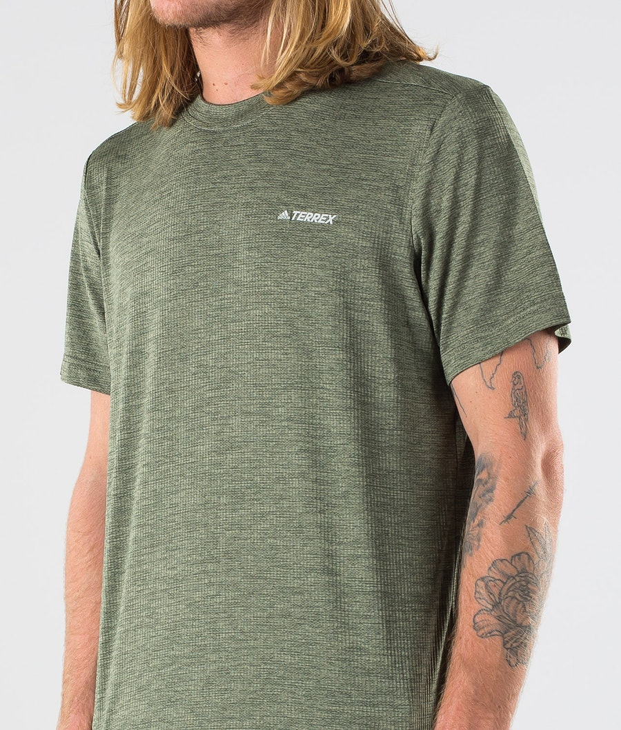 Adidas Terrex Tivid T-shirt Legend Earth