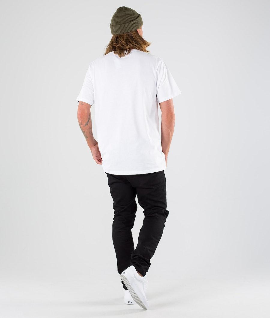 Vans Print Box T-shirt White/Super Bloom