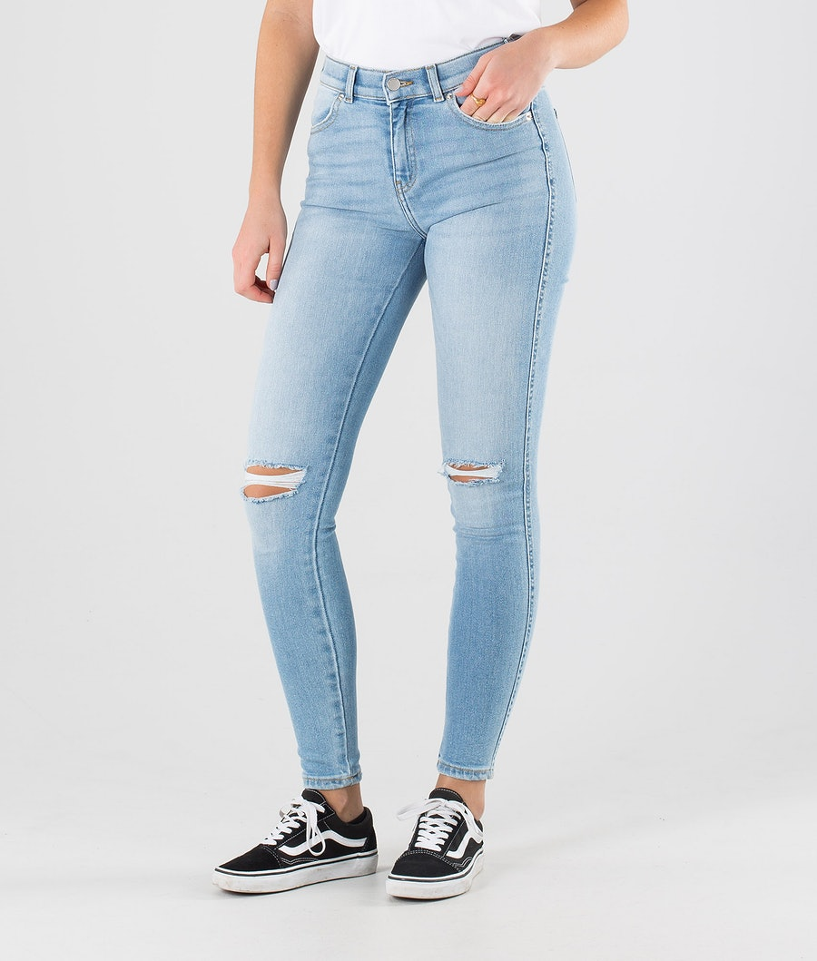 Dr Denim Lexy Broek Icicle Blue Ripped