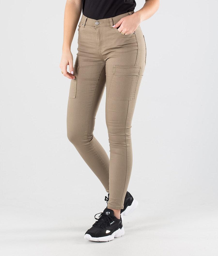 Dr Denim Lexy Cargo Pantaloni Khaki