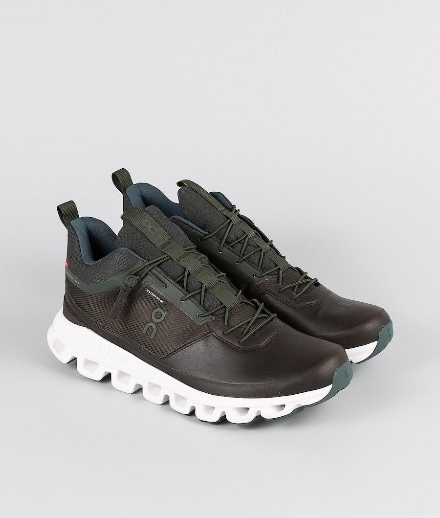 On Shoes Cloud Hi Waterproof Scarpe Fir/Umber