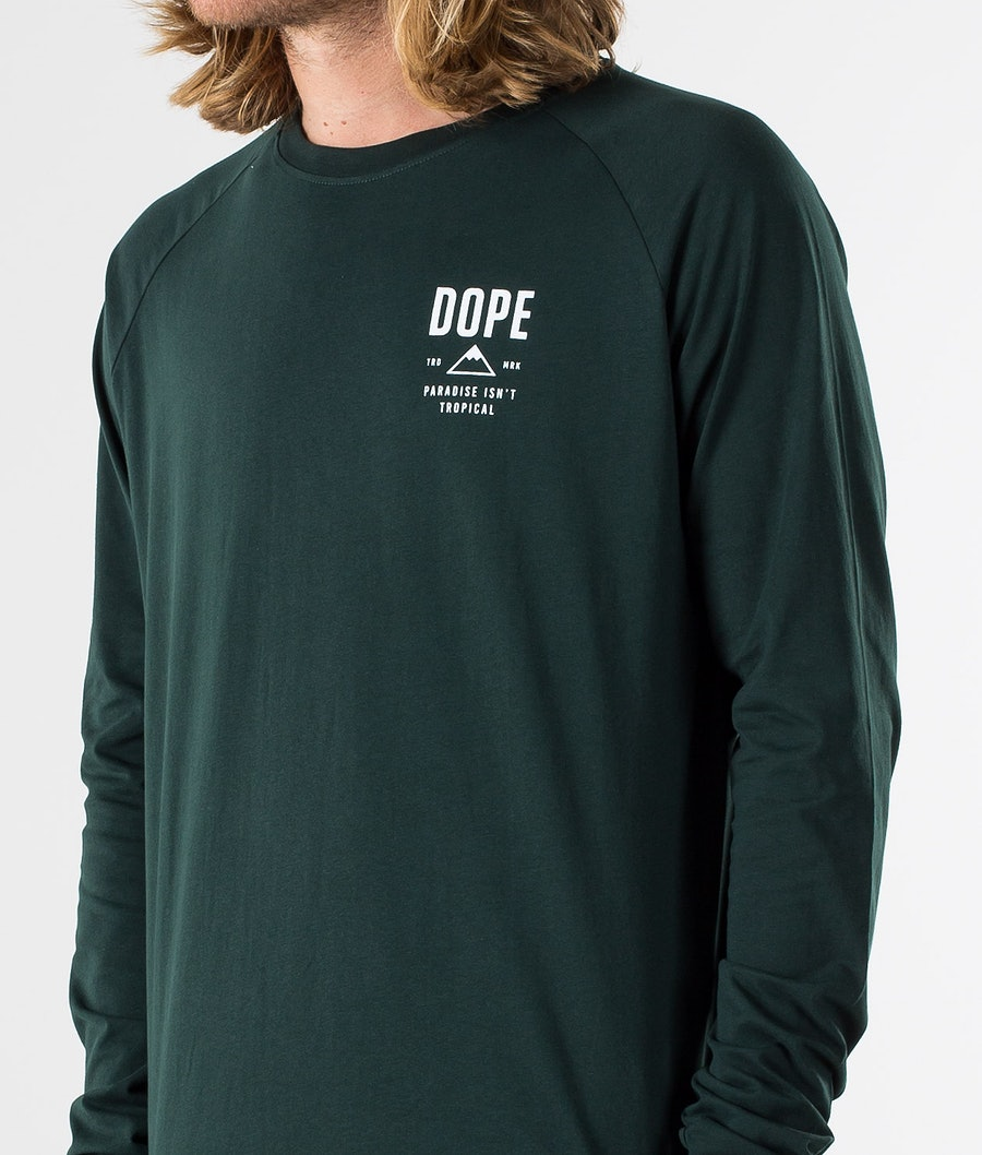 Dope Stacked Longsleeve Green
