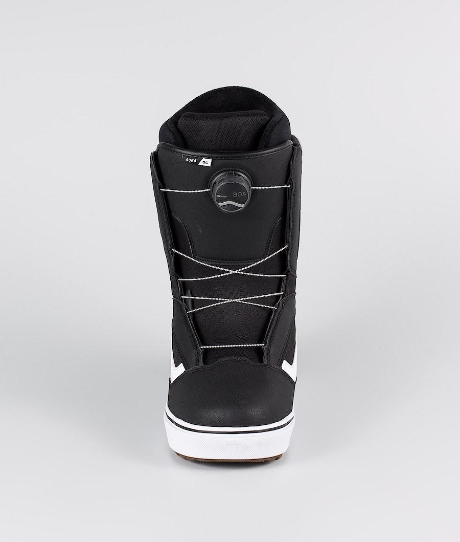 Vans Aura OG Snowboardboots Black/White 20