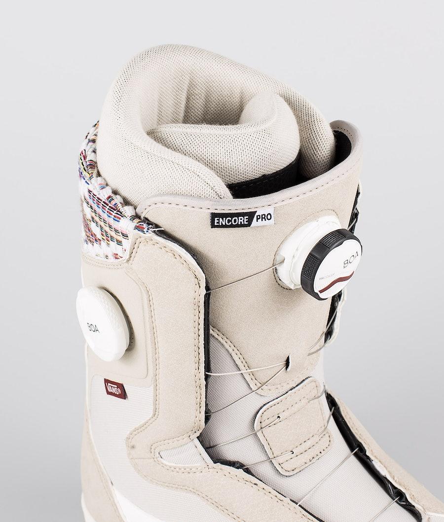 Vans Encore Pro Snowboardboots Damen Oatmeal/Peyote