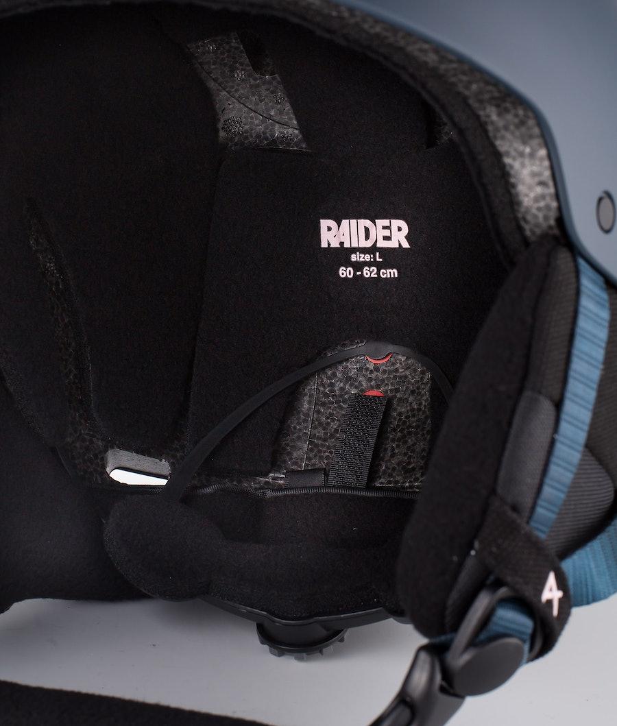 Anon Raider 3 Skihjelm Rogasch Blue
