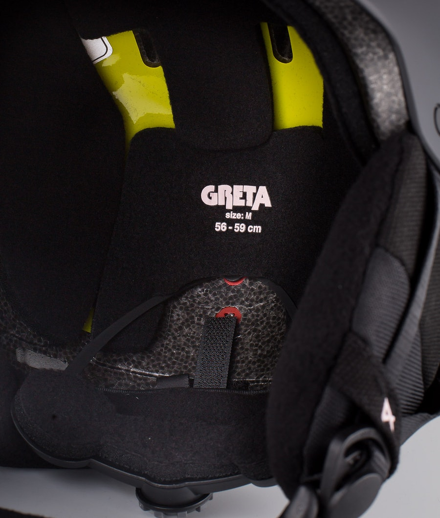 Anon Greta 3 Mips Casque de Ski Femme Black