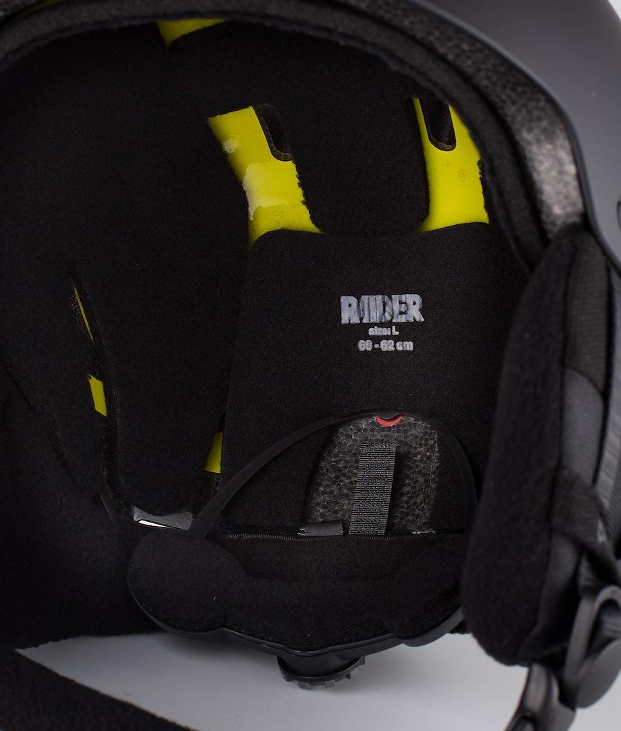Burton Raider 3 Mips Ski Helmet Black