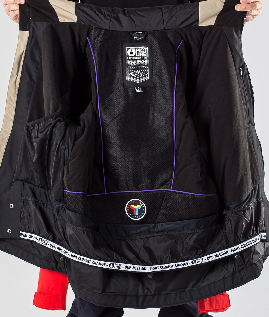 Picture Picture Object Snowboard Jacket Red Dark Blue