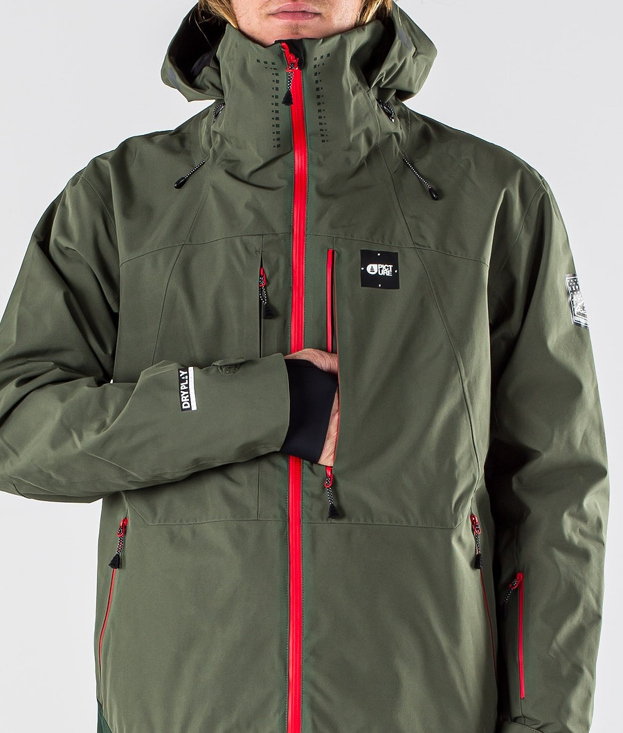 Picture Track Snowboard Jacket Lychen Green