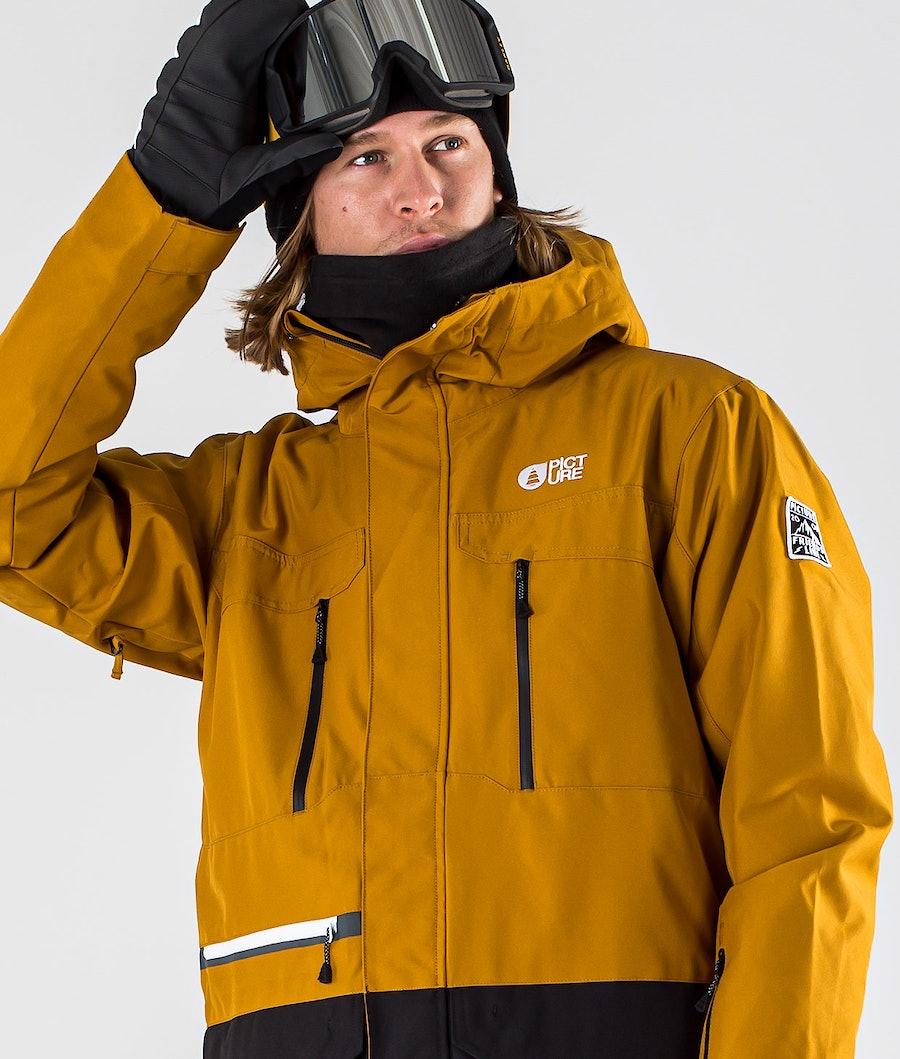 Picture Pure Snowboardjacke Camel Black