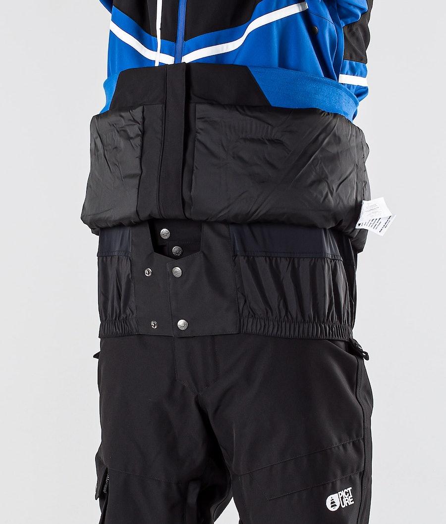 Picture Panel Snowboardjacke Black Blue