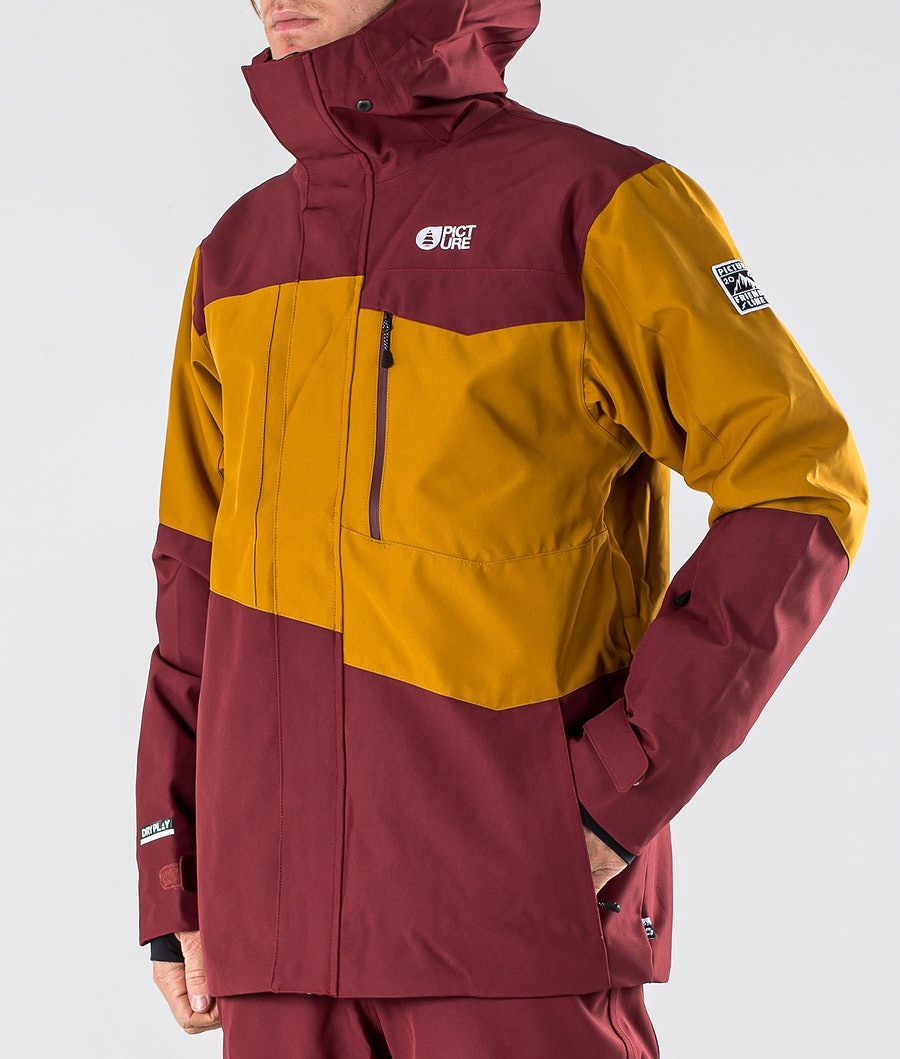 Picture Styler Snowboard Jacket Camel Ketchup