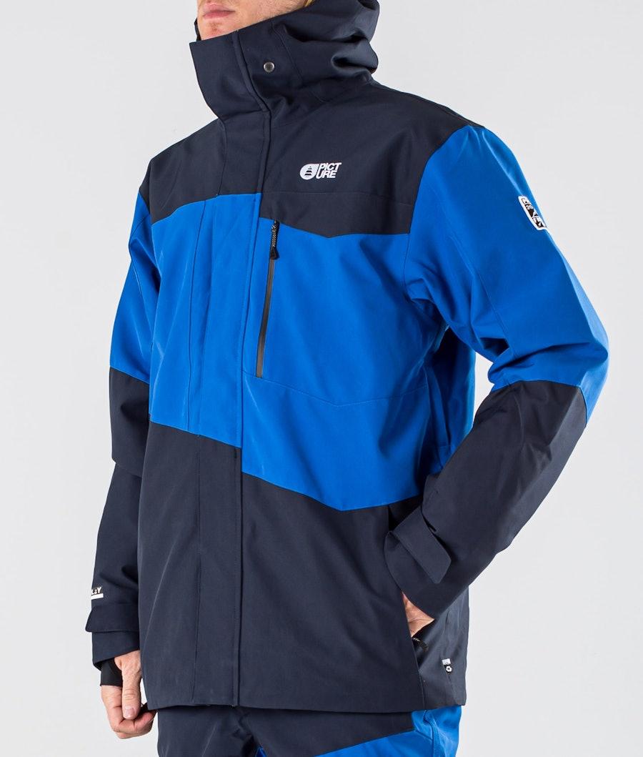 Picture Styler Snowboardjacke Blue Dark Blue