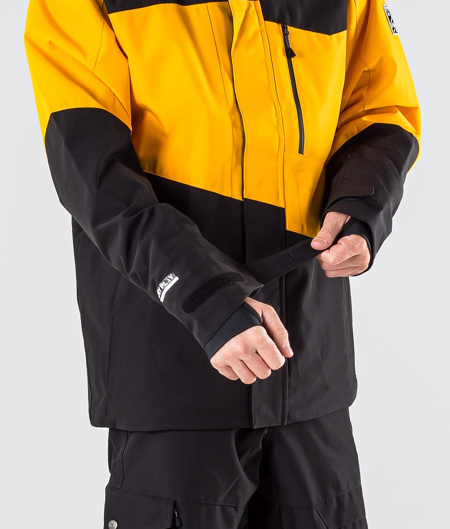 Picture Styler Snowboard Jacket Yellow Black