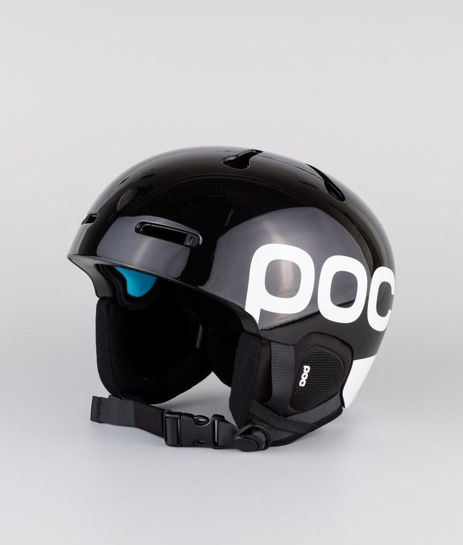 Poc Auric Cut Backcountry SPIN Ski Helmet Uranium Black