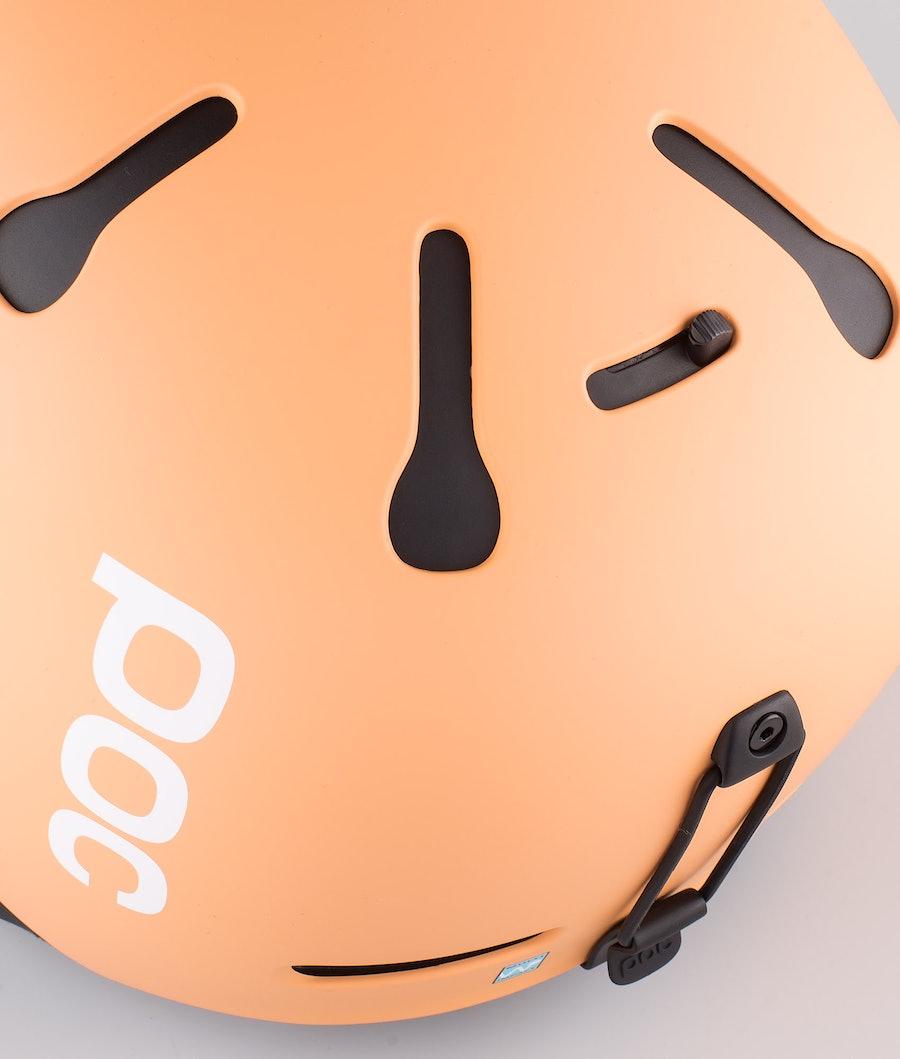 Poc Auric Cut Casque de Ski Light Citrine Orange