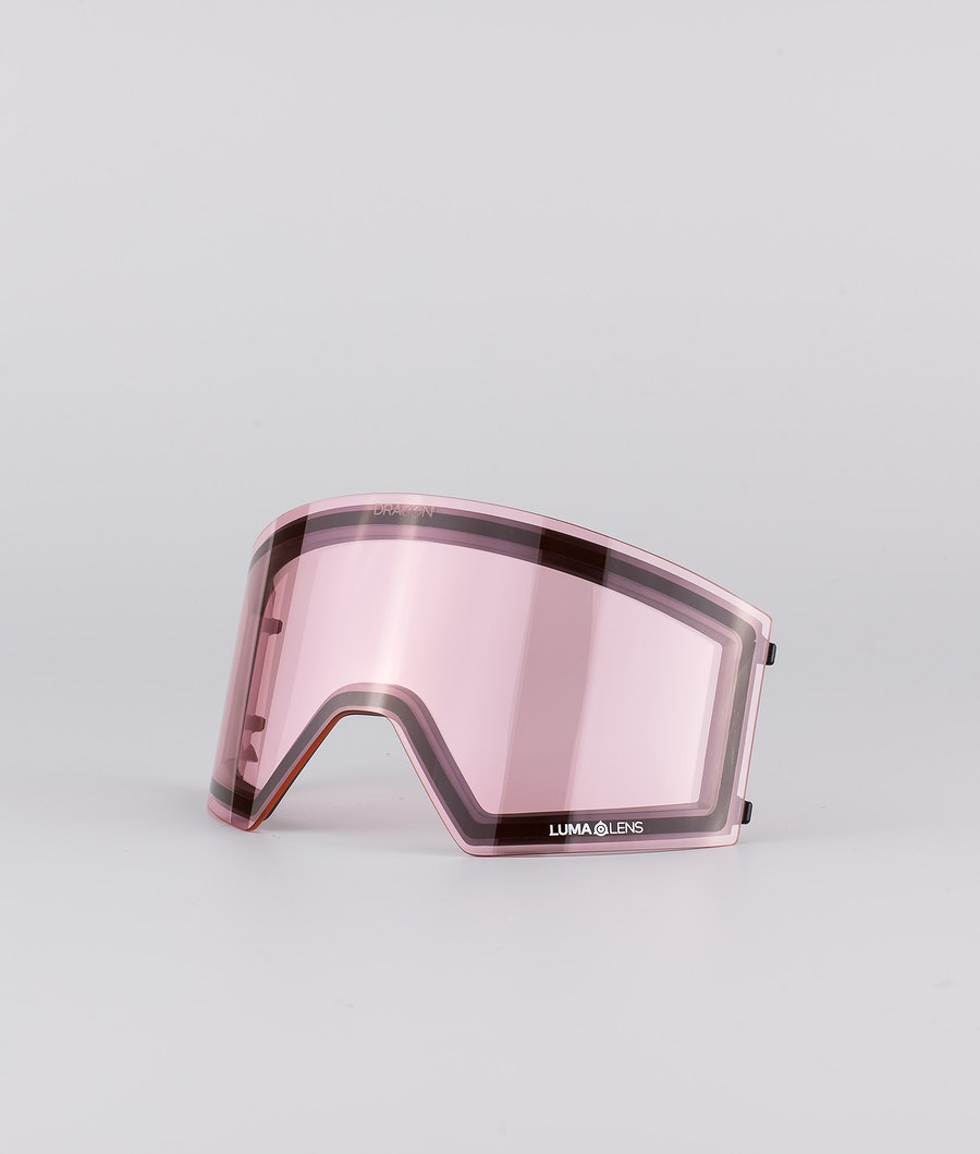 Dragon RVX OTG Skidglasögon Pumice w/Lumalens Dark Smoke+Lumalens Light Rose