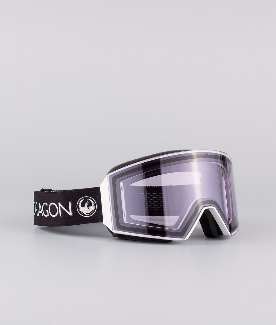 Dragon RVX OTG Skibril Pearl w/Lumalens Violet+Lumalens Dark Smoke