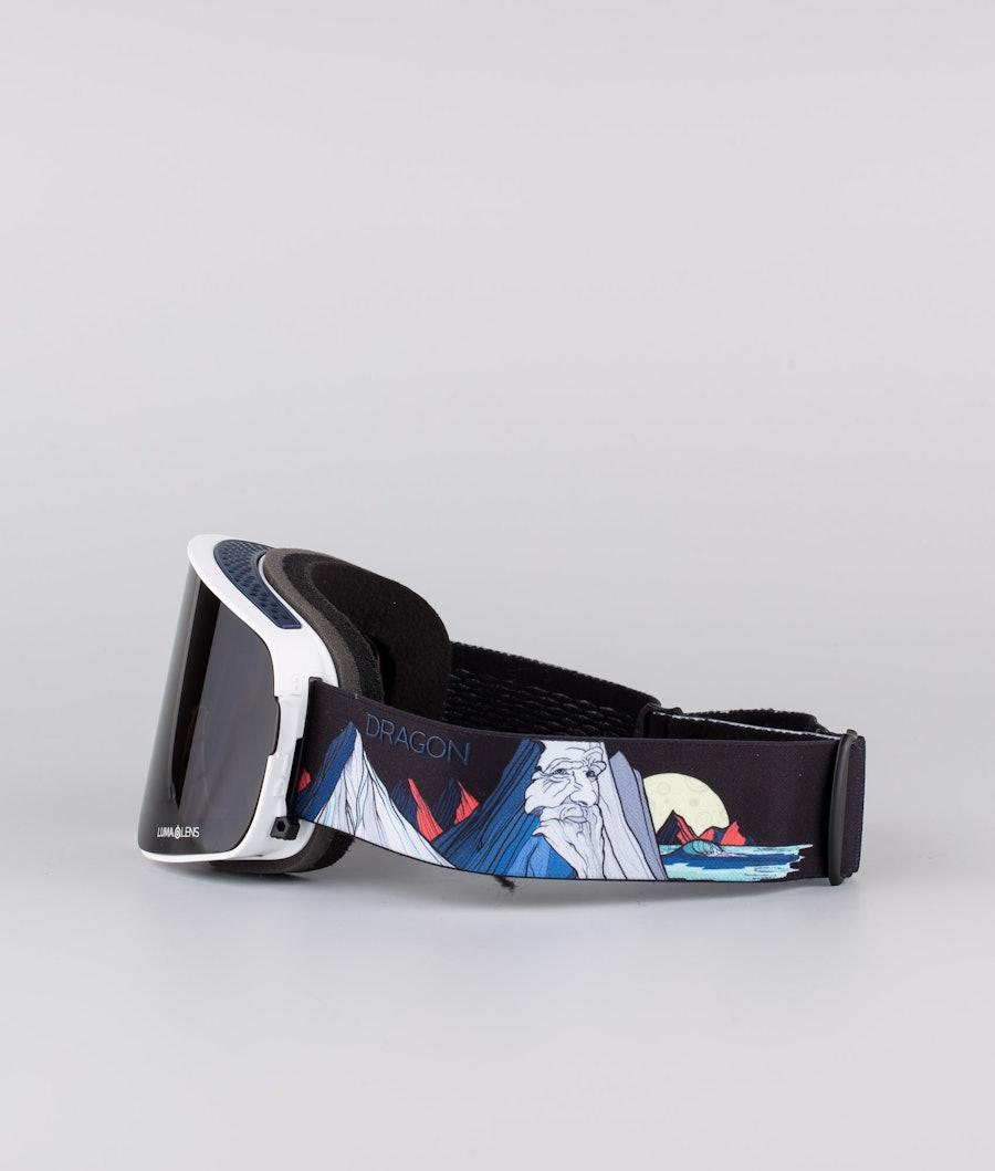 Dragon NFX2 Skidglasögon Benchetler 20 w/Lumalens Midnight+Lumalens Rose