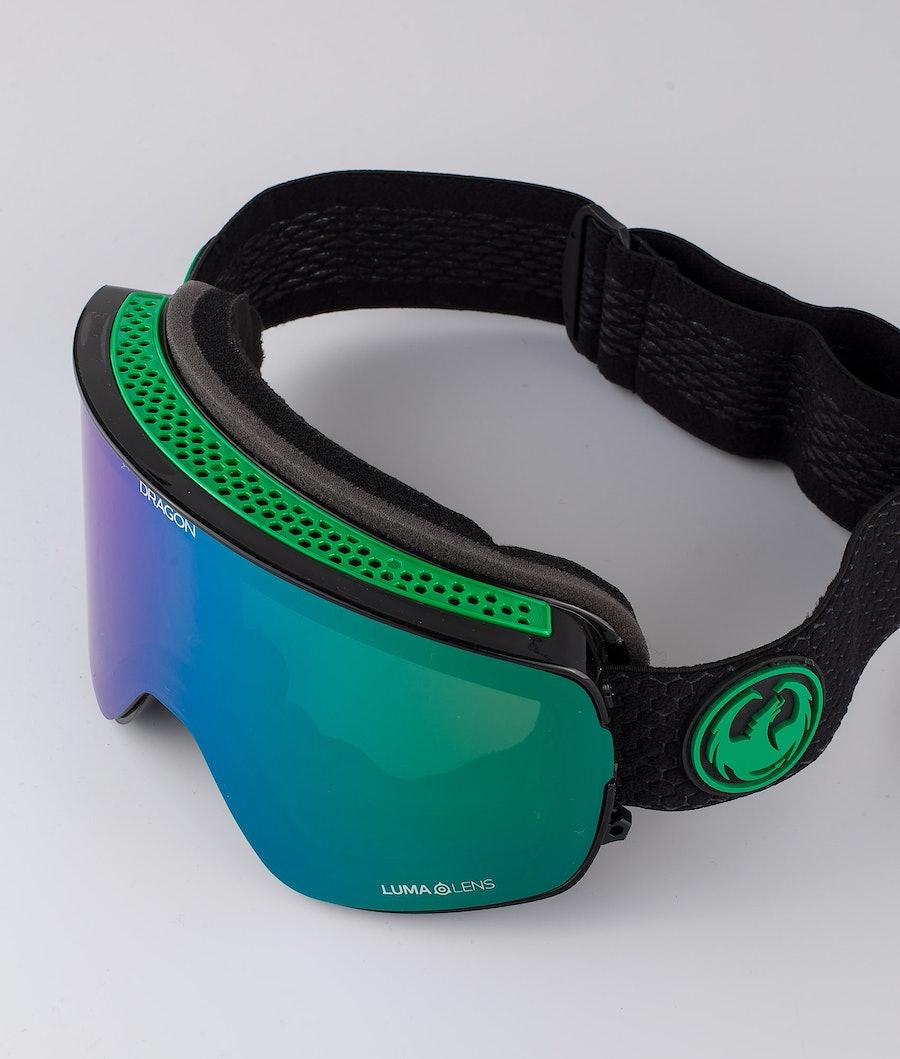 Dragon NFX2 Skidglasögon Split w/Lumalens Green Ionized+Lumalens Amber