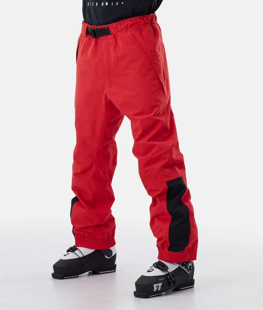 JT Blizzard Ski Pants Men Red