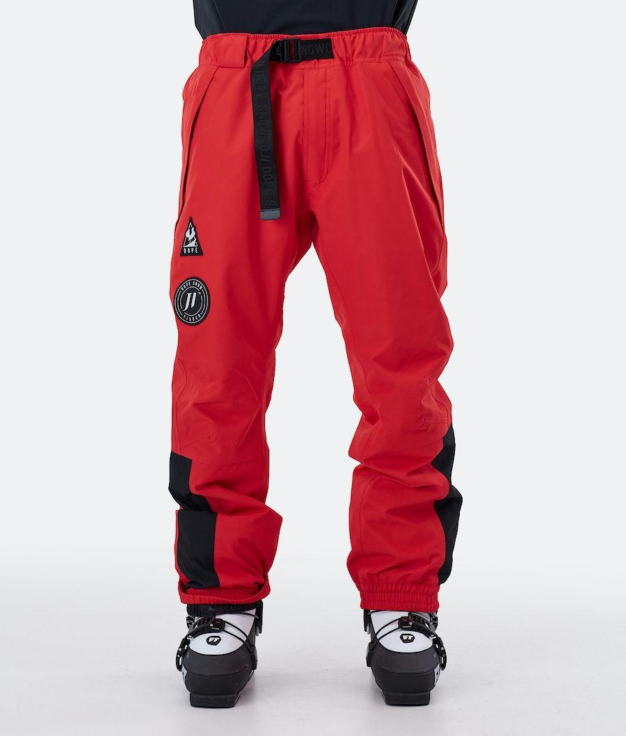 Dope JT Blizzard Ski Pants Red