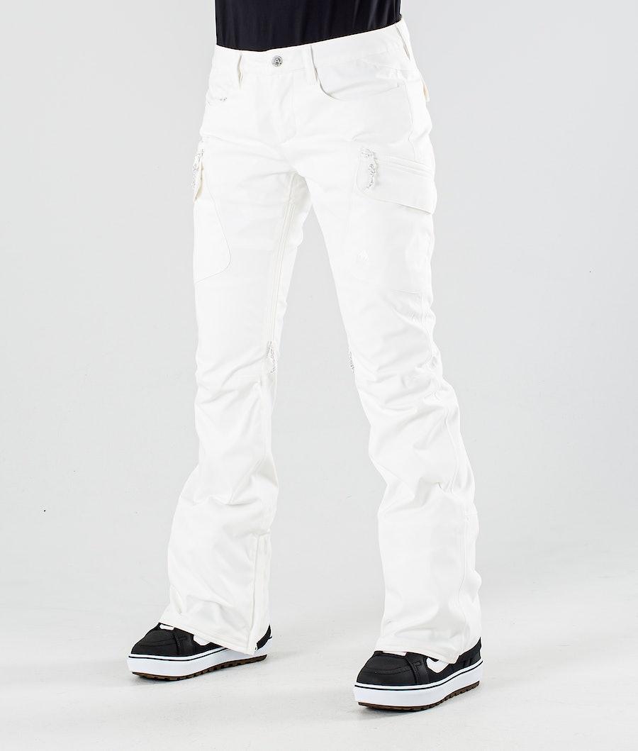 Burton Gloria Snowboard Pants Stout White