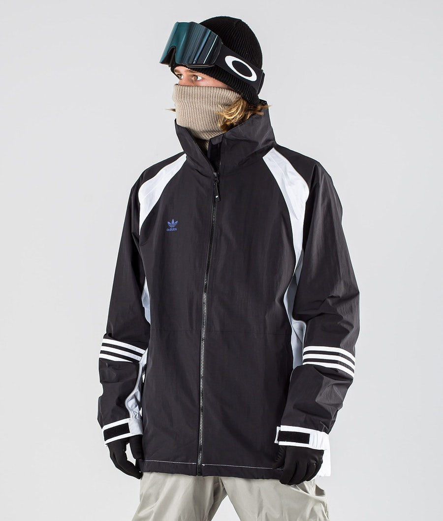 Adidas Snowboarding 10K DNA Snowboard jas White/Black/Mystery Ink