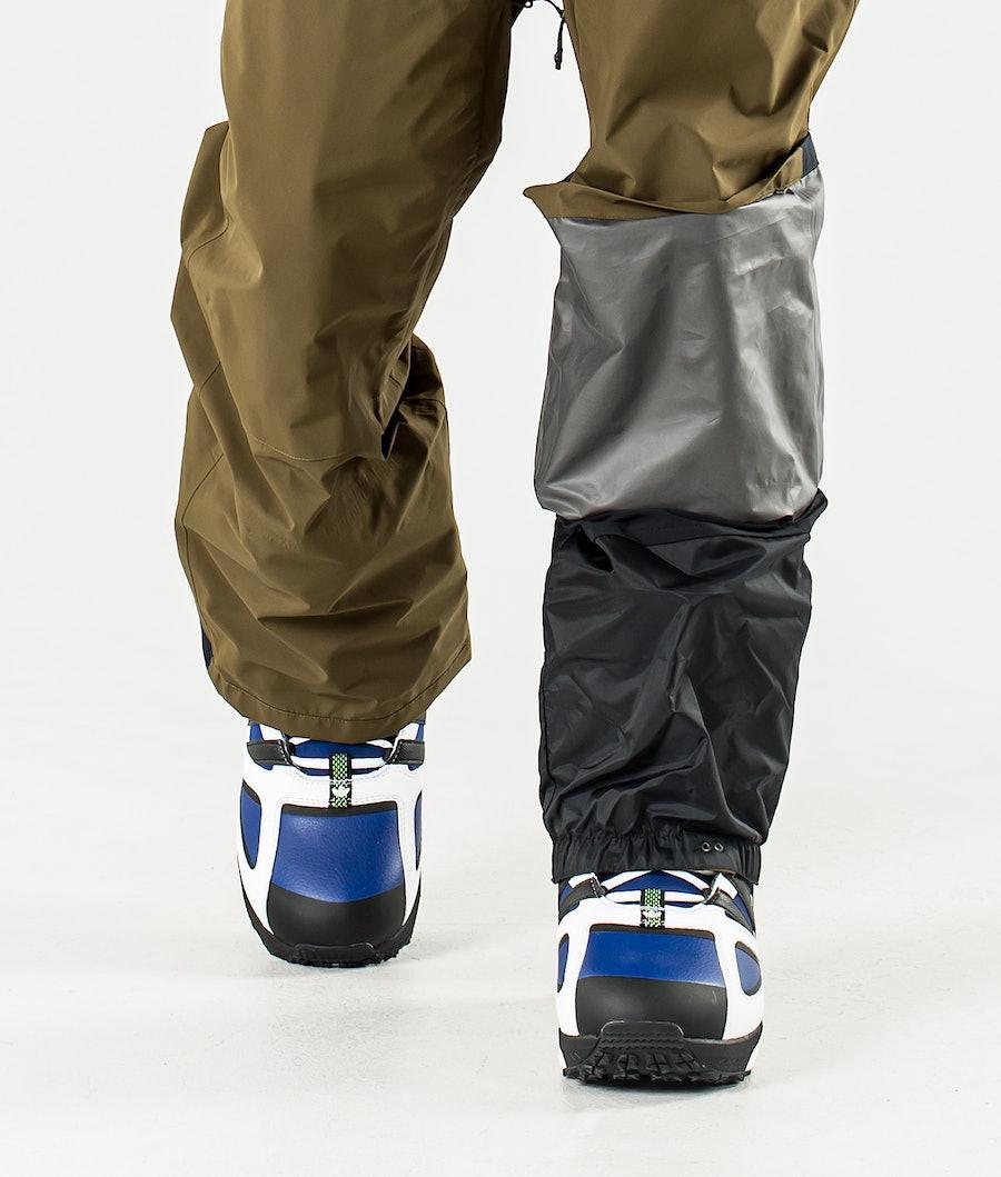 Adidas Snowboarding Gore-Tex bib Snowboard Broek Legend Ink/Trace Olive/Ice Blue