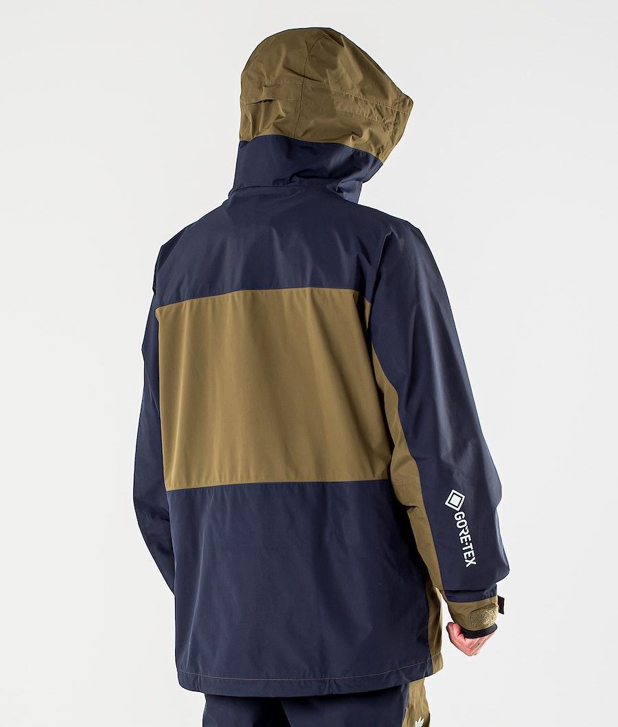Adidas Snowboarding Gore-Tex Adi Snowboard jas Legend Ink/Trace Olive/Ice Blue
