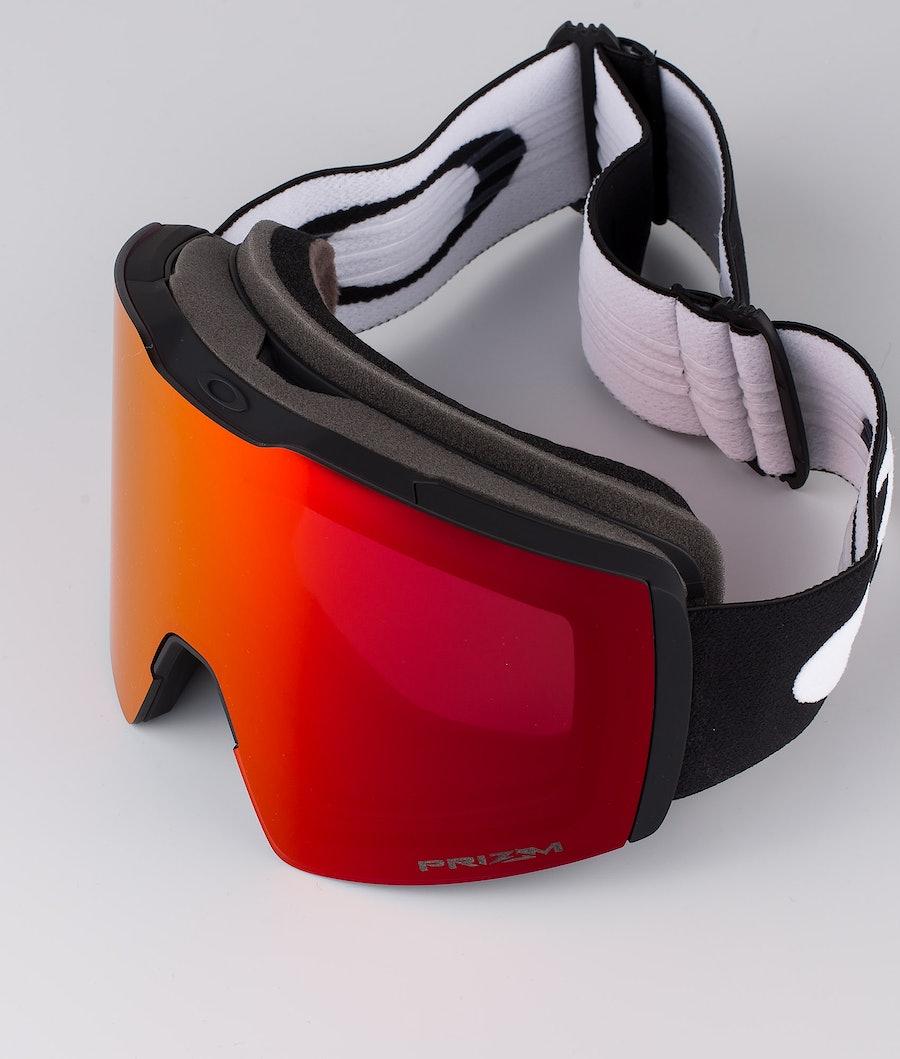 Oakley Fall Line XL Skibril Black With Prizm Snow Torch Iridium Lens