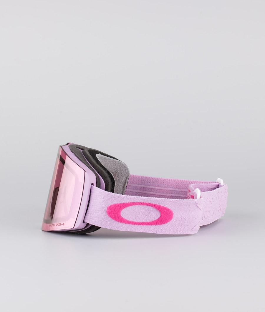 Oakley Fall Line XM Skibril Prizm Icon Lavender Rubine With Prizm Snow Hi Pink Lens