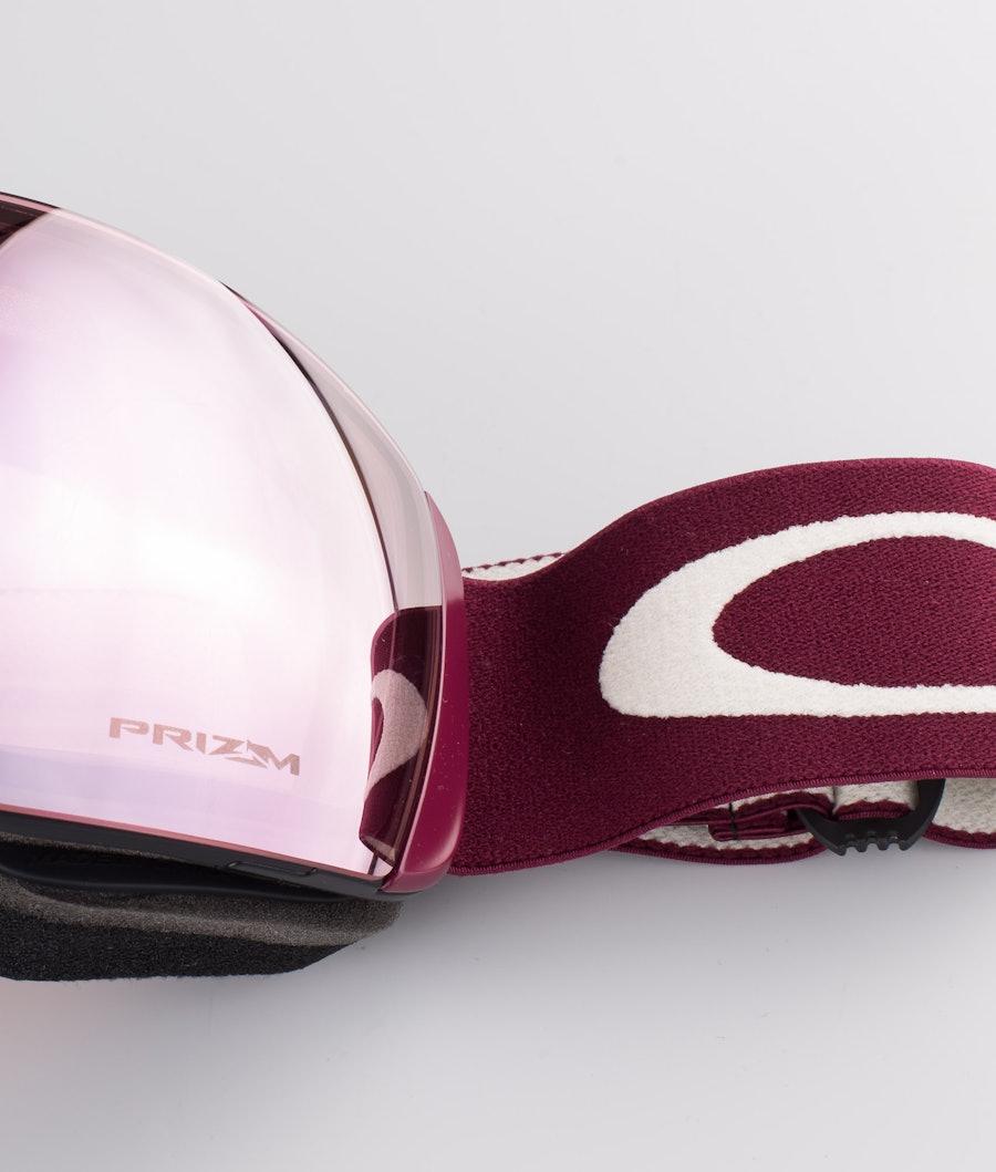 Oakley Flight Deck XL Skibril Grenache Grey With Prizm Snow Hi Pink Lens