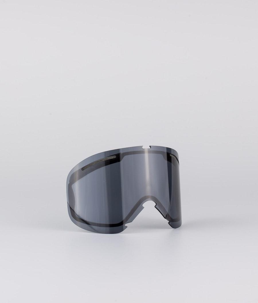 Oakley O Frame 2.0 Pro XL Skibriller White With Persimmon & Dark Grey Lens