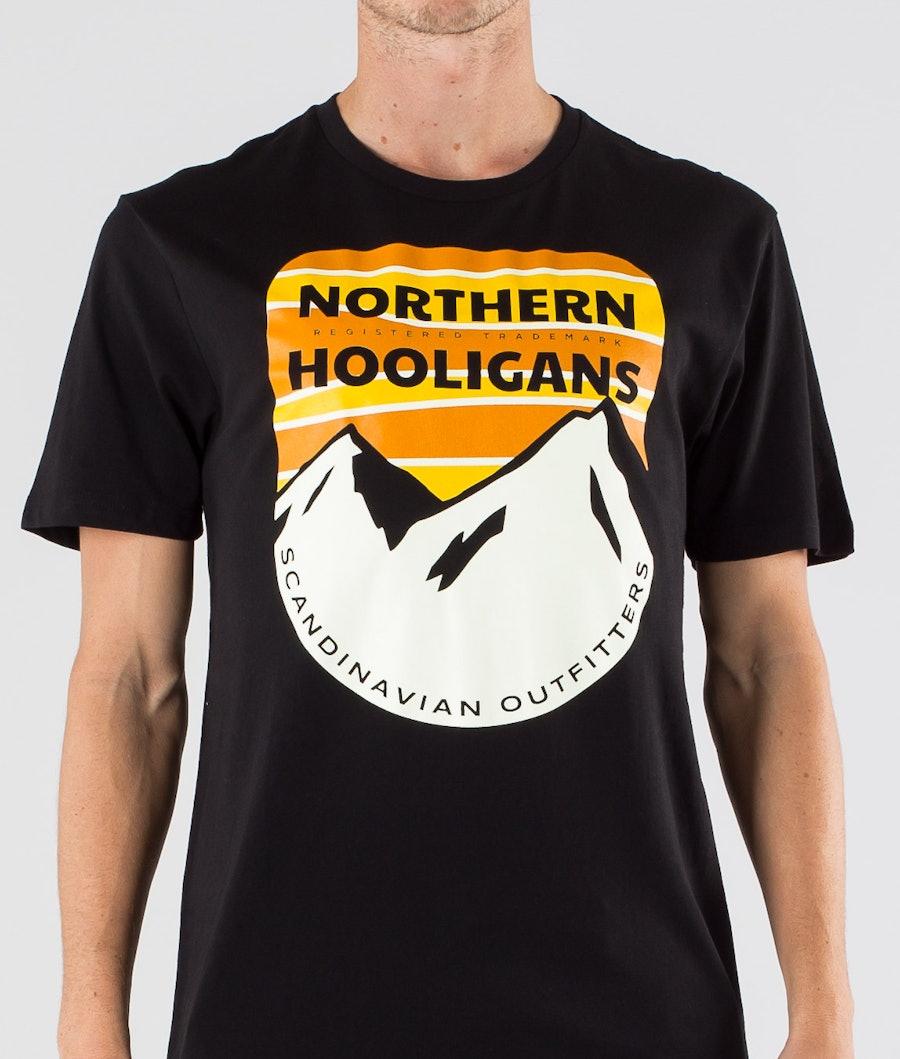 Northern Hooligans Scandinavian Outfitters T-shirt Black