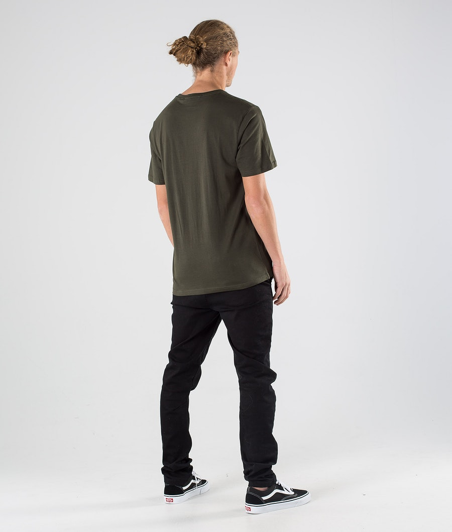 Northern Hooligans Scandinavian Outfitters T-shirt Dark Camping Green