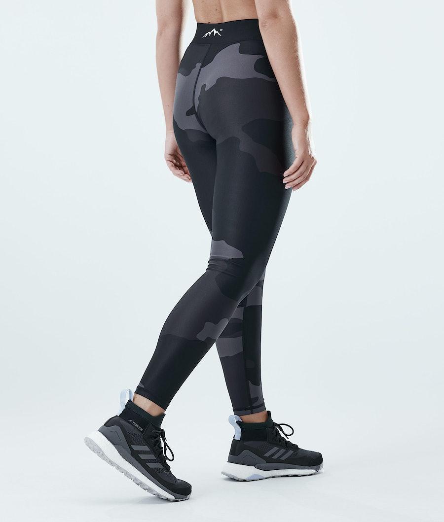 Dope Razor Women's Leggings Black Camo