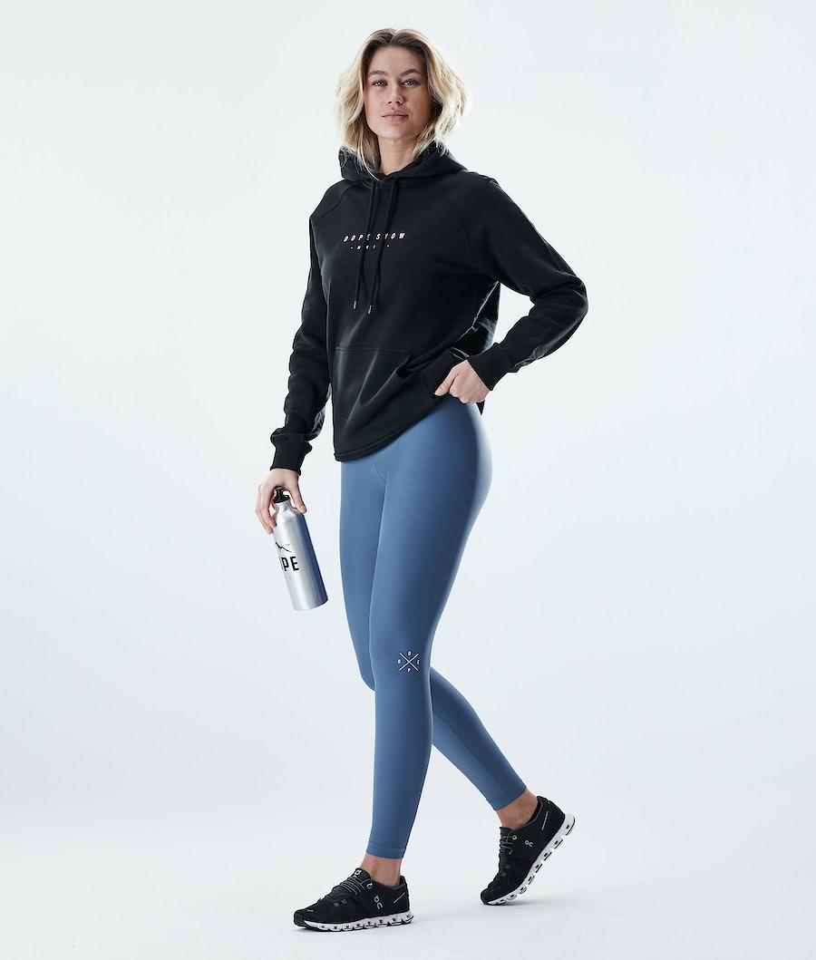 Dope Razor Women's Leggings Blue Steel