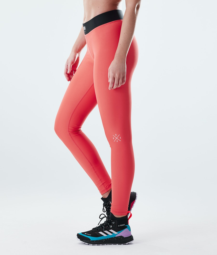 Razor Leggings Women Coral