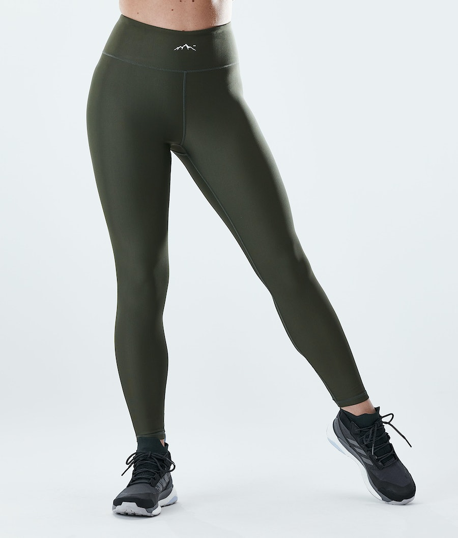 Lofty Leggings Women Olive Green
