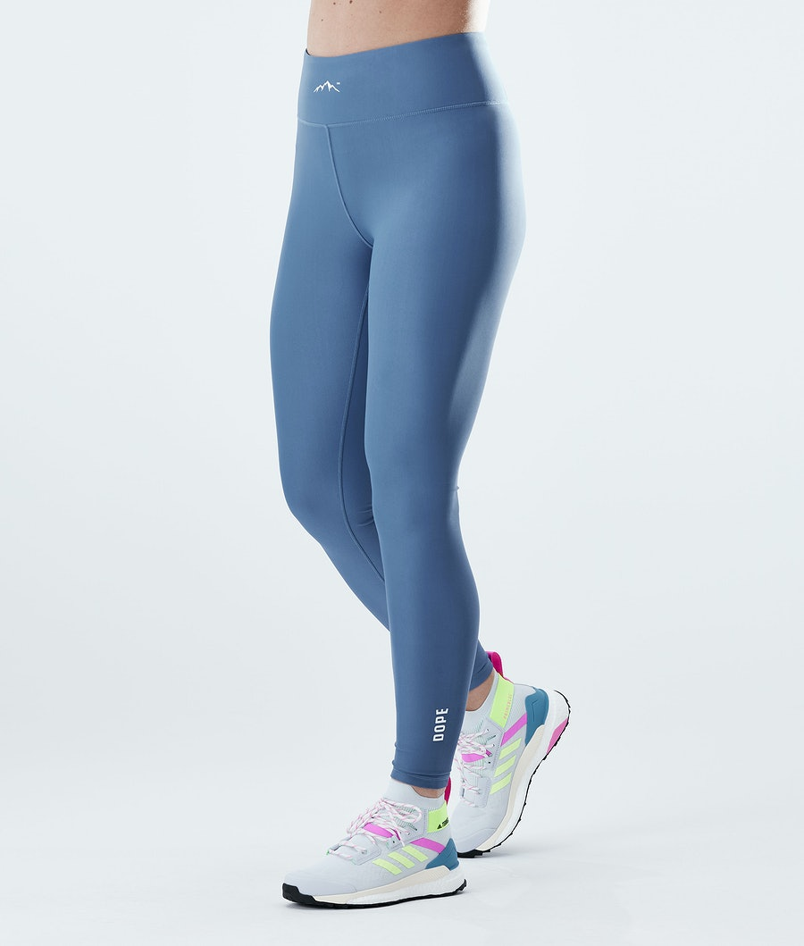 Lofty Leggings Women Blue Steel