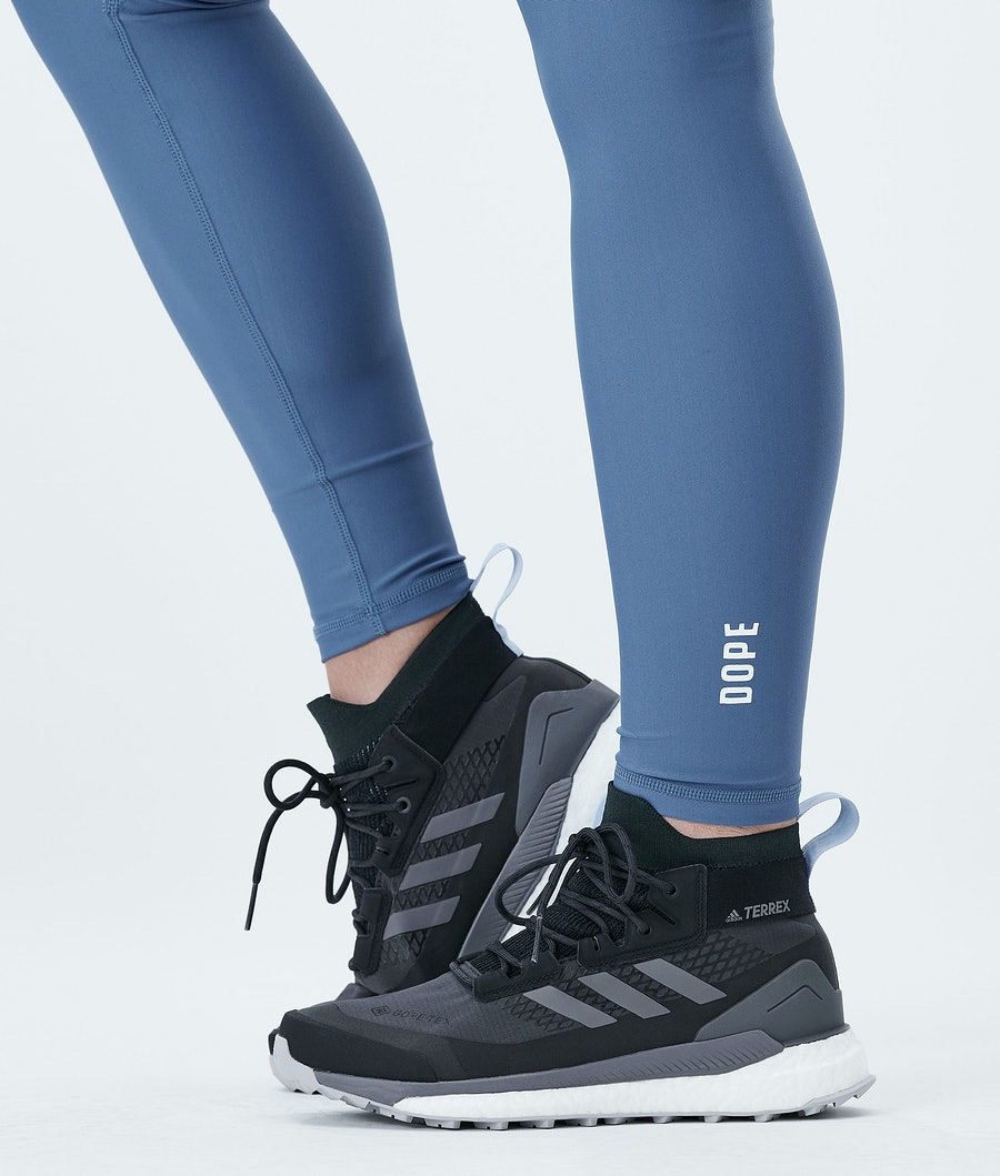 Dope Lofty Tech Women's Leggings Blue Steel