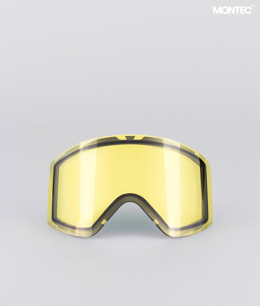 Montec Scope Large Replacement Lens Ski Yellow