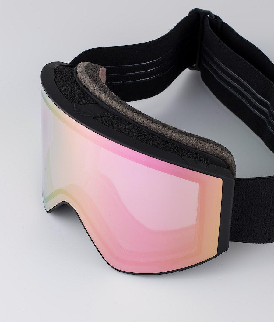 Montec Scope Large Ski Goggle Black W/Black Pink Sapphire