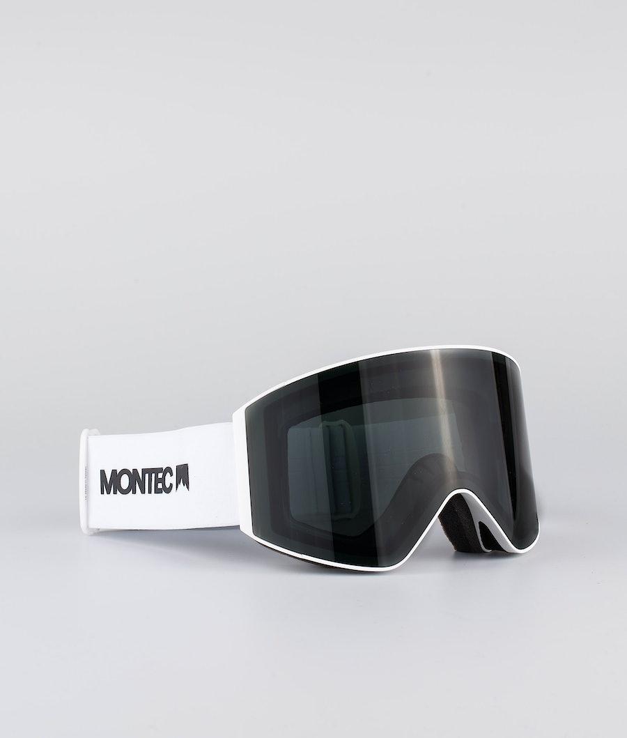 Scope Large Ski Goggles Men White W/White Black